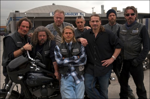 Sons of anarchy, clay, jax