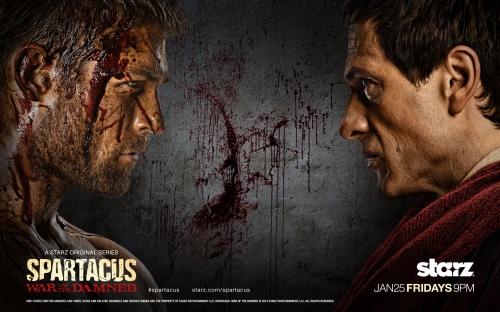 Spartacus, crixus, gannicus.